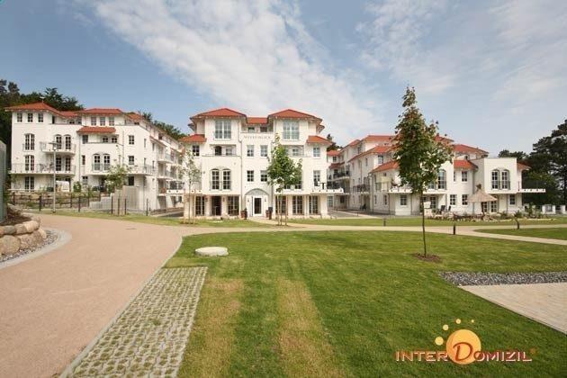 Aussenansicht Haus Meeresblick - Ostsee Baabe Ferienwohnung Sonnendeck A 3.12 - Objekt 128719-1