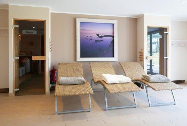 Saunabereich im Haus Meeresblick Ferienwohnung Schwalbennest A 4.06 Ref. 128721