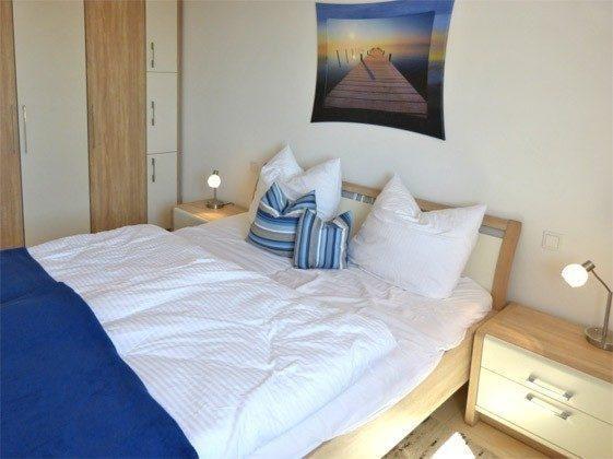 Schlafbereich Ferienwohnung Schwalbennest A 4.06 Ref. 128721