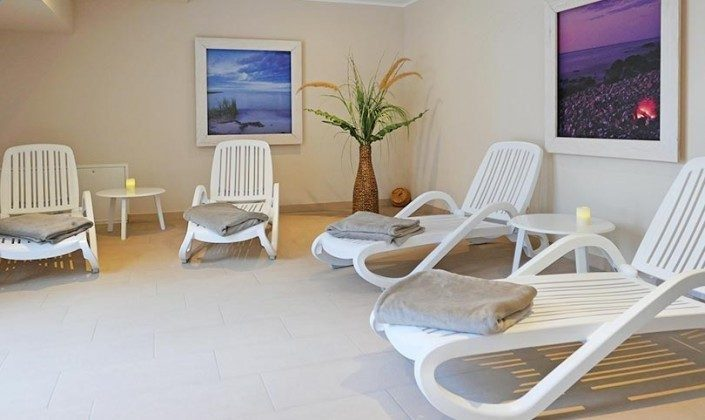 Ruhebereich im Wellnessbereich Haus Meeresblick