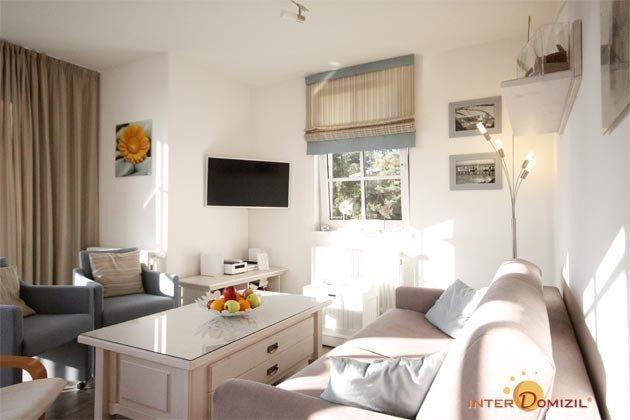 Wohnzimmer Baabe Ferienwohnung Seebrise, teilweise Meerblick Ref. 130579-1