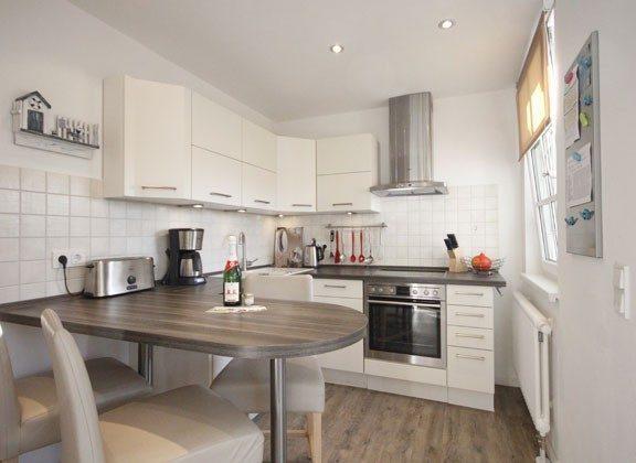 Küche mit Essbereich Baabe Ferienwohnung Seebrise, teilweise Meerblick Ref. 130579-1