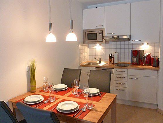 Essbereich/ Küche Baabe Ferienwohnung Sansibar Ref. 131422-P