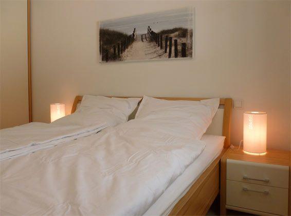 Schlafzimmer Baabe Ferienwohnung Sansibar Ref. 131422-P