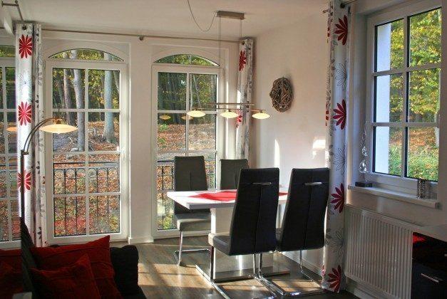 Wohnbereich mit Terrassentür Ferienwohnung Sandrose Ref. 132363