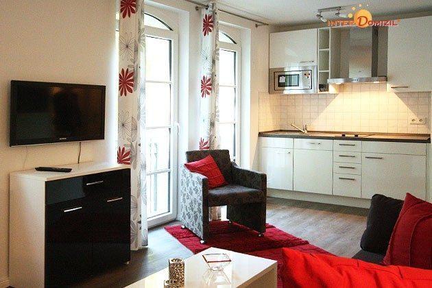 Wohnbereich Ferienwohnung Sandrose Ref. 132363