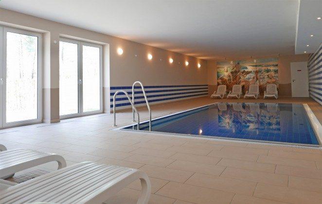 Schwimmbad im Haus Meeresblick in Baabe