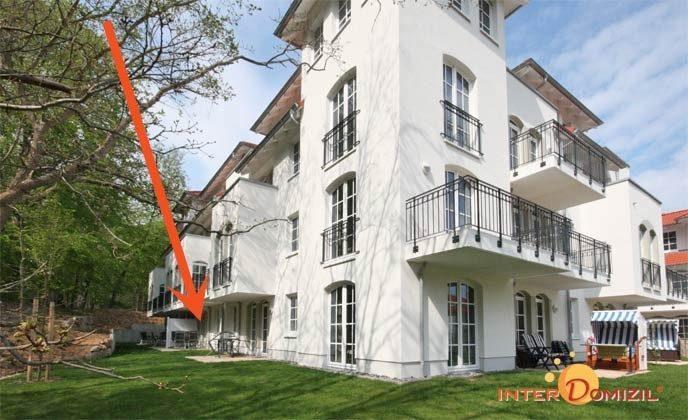 Lage im Haus Meeresblick Baabe Ferienwohnung Abendrot A 1.31 Ref. 132364
