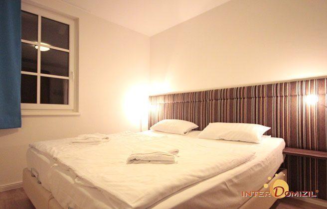 Schlafzimmer 1 Rügen Ferienwohnung Regenbogen A 1.19 Ref. 132408