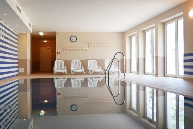 Schwimmbad im Haus Meeresblick Rügen Ferienwohnung Regenbogen A 1.19 Ref. 132408