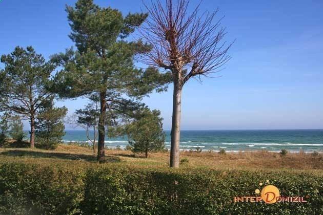 Promenade von Baabe vorm Haus Meeresblick