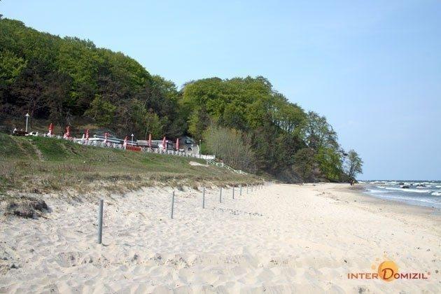der schöne Strand von Baabe