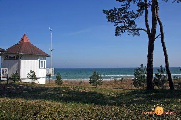 Häuschen am Strand von Baabe