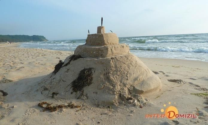 die Strandburg Haus Meeresblick