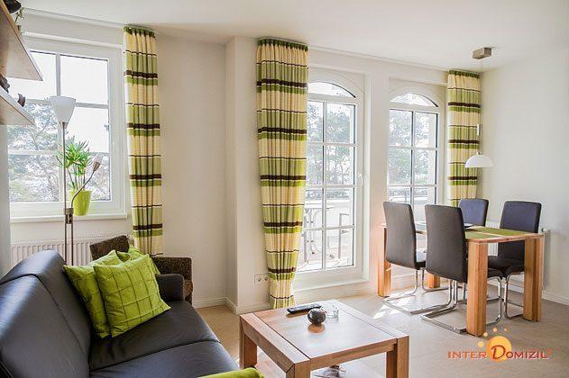 Rügen Haus Meeresblick Baabe Ferienwohnung Strandkieker mit Meerblick A 2.17 Ref. 133366