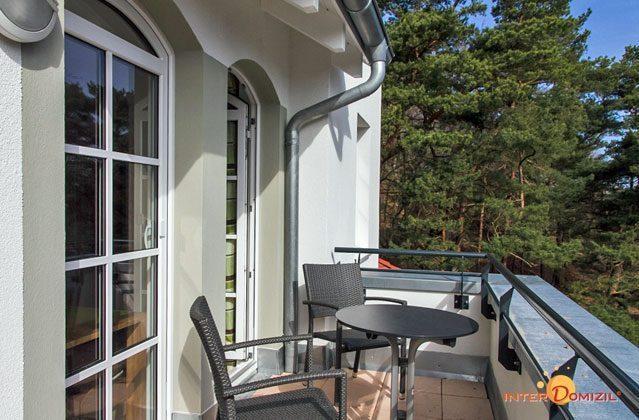 Balkon Haus Meeresblick Baabe Ferienwohnung Strandkieker mit Meerblick Ref. 133366