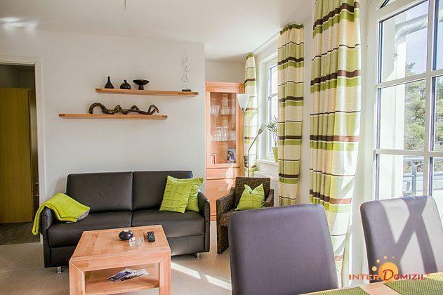 Wohnbereich Haus Meeresblick Baabe Ferienwohnung Strandkieker mit Meerblick Ref. 133366