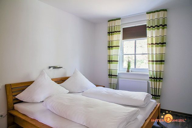 1. Schlafzimmer Haus Meeresblick Baabe Ferienwohnung Strandkieker mit Meerblick Ref. 133366