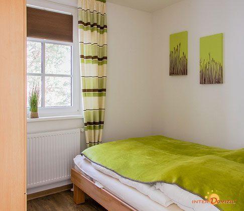 2. Schlafzimmer Haus Meeresblick Baabe Ferienwohnung Strandkieker mit Meerblick Ref. 133366