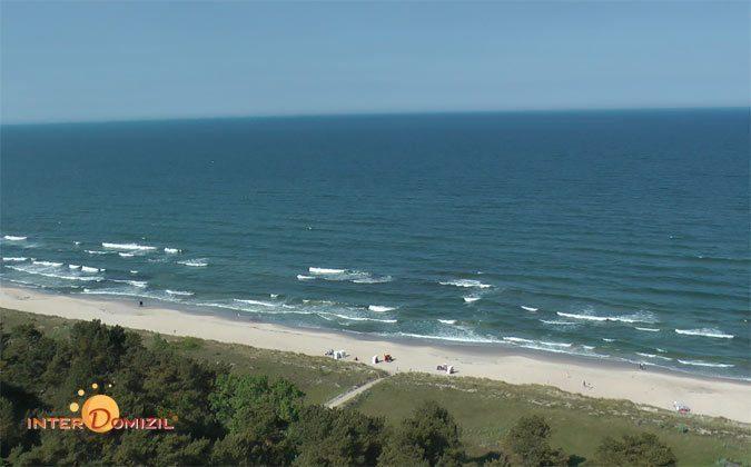 Strand vorm Haus Meeresblick