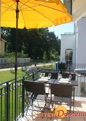 Balkon  Ferienwohnung Wellenreiter A 1.13 Ref. 134029