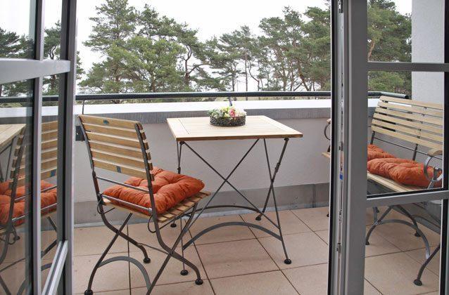 Rügen Haus Meeresblick Ferienwohnung Balkon mit Meerblick Ref. 134062