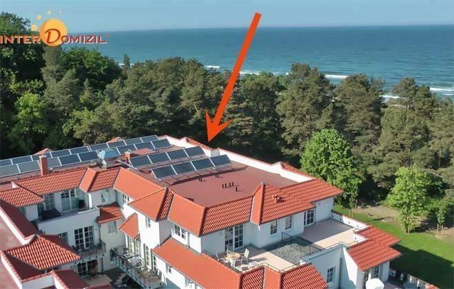 Rügen Haus Meeresblick Ferienwohnung Am Wasser mit Meerblick Ref. 134062