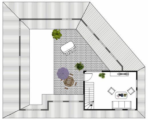 Grundriss Ebene 2 Rügen Baabe Penthouse Ref 136611