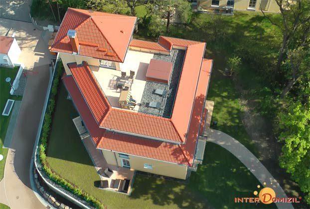 Aufblick auf die Dachterrasse Rügen Baabe Penthouse Sonnenpalais B 2.01 Ref.... - Objekt 136611-1