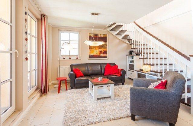 Wohnbereich 1. Ebene Rügen Baabe Penthouse Ref. 136611 Haus Meeresblick