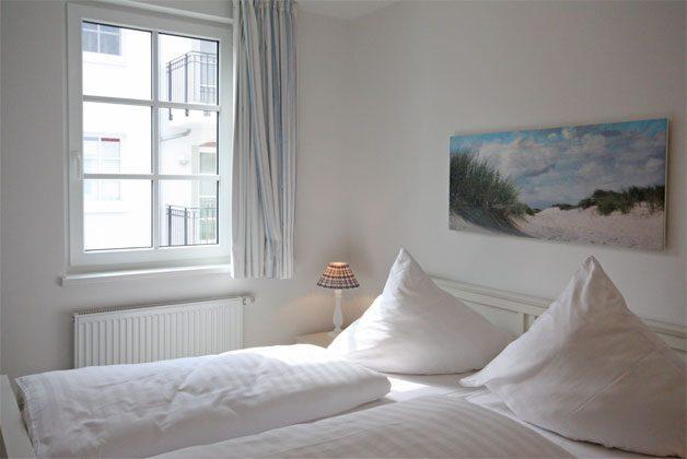 Schlafzimmer  Ferienwohnung Seepferdchen A 2.02