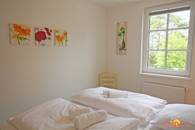 Schlafzimmer  Haus Meeresblick Baabe