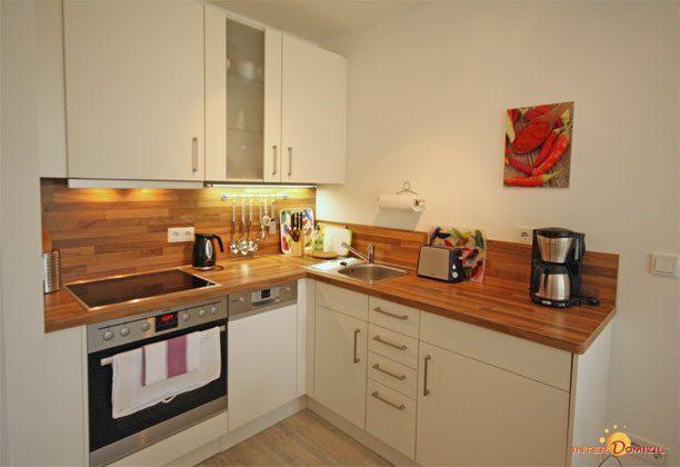 Küche Haus Meeresblick Ferienwohnung Nordstern Ref. 138647