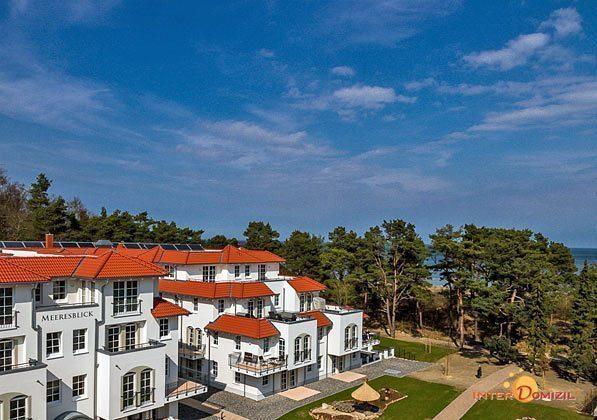 Das Haus Meeresblick Baabe auf Rügen