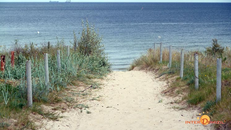 Strandzugang  von Baabe auf Rügen