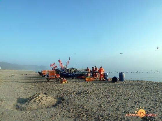 Impressionen am Morgen am Strand von Baabe