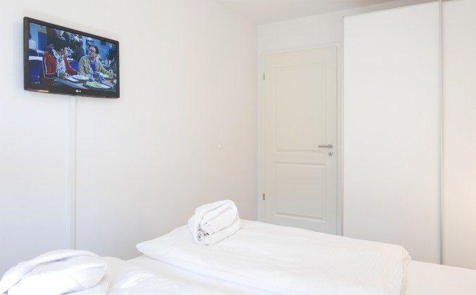Fernseher im Schlafzimmer Baabe Fewo Fischerhüs A 1.28 Ref. 138713