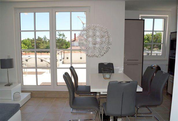 Blick aus dem Fenster Ferienwohnung Sternenhimmel A 3.08 Ref. 141806-1