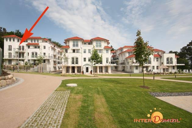 Balkon  Baabe Ferienwohnung Baltic im Haus Meeresblick A 3.18 Ref 142211