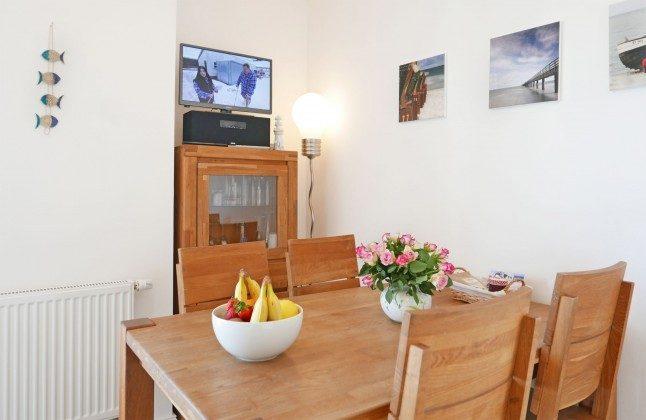 Essbereich / Küche Baabe Ferienwohnung Baltic im Haus Meeresblick A 3.18 Ref 142211