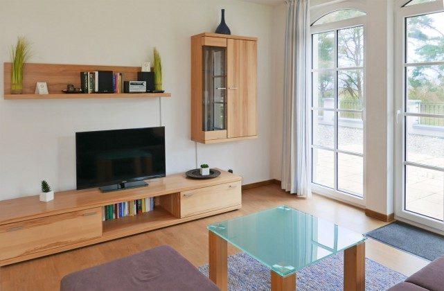 Wohnbereich Ferienwohnung Dünenblick A 0.06