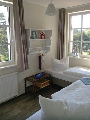 Schlafzimmer 2 Baabe Ferienwohnung Uns Hüsung mit Meerblick A 2.13 Ref. 144198