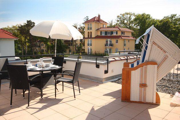Terrasse Ferienwohnung Uns Hüsung mit Meerblick Ref. 144198