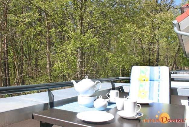 Balkon Meeresblick Rügen Ferienwohnung Wolke7 A 3.17 Ref. 150690
