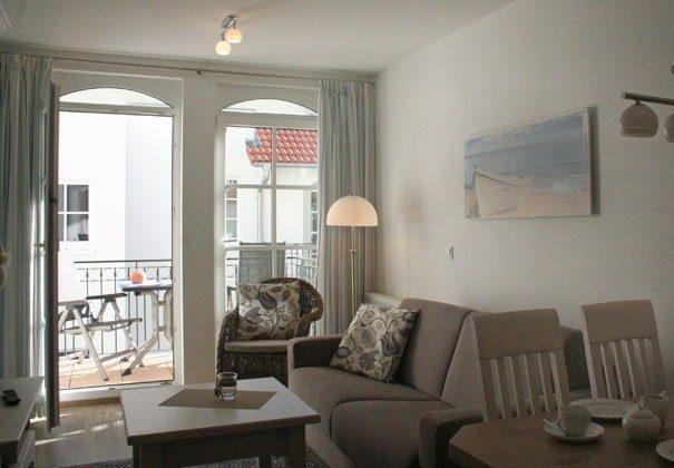 Wohnbereich Ferienwohnung Albatros Ref 152813 Haus Meeresblick