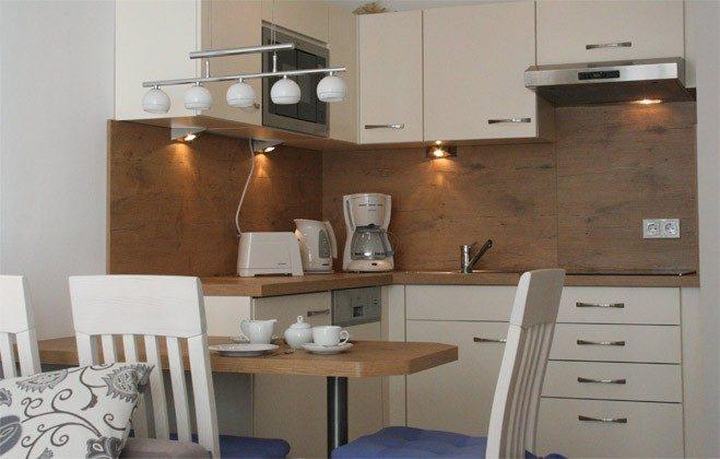 Küchenzeile Ferienwohnung Albatros Ref 152813 Haus Meeresblick