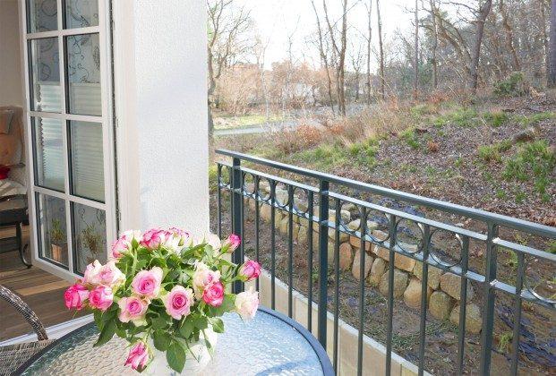 Balkon Baabe Ferienwohnung Kapitänskajüte A2.27 Ref. 155476-1