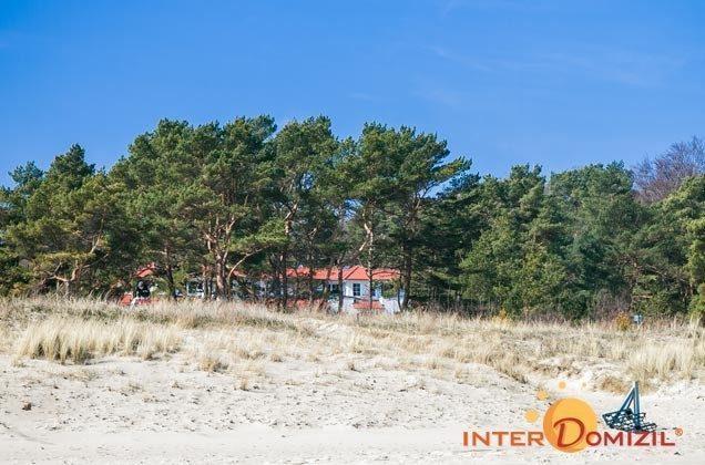 Blick vom Strand zum Meeresblick Ferienwohnung Kapitänskajüte A2.27 Ref. 155476-1
