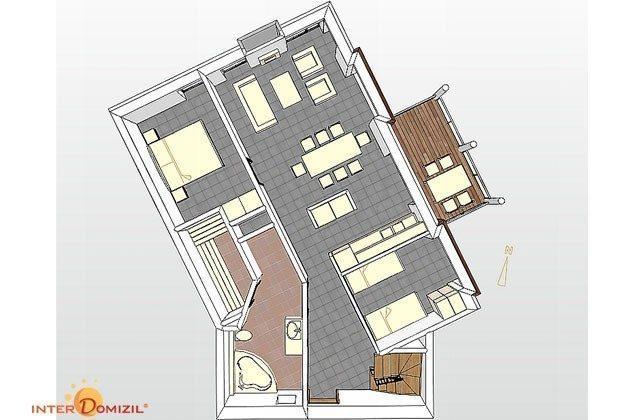 Grundriss Strandvilla Meerblick Ref 158481