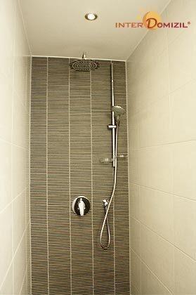 Dusche Dachgeschosswohnung Strandvilla Baabe Ref. 159404